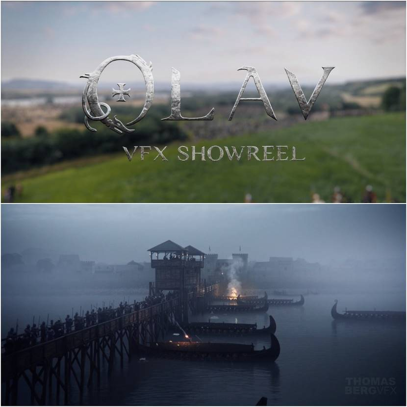 Olav VFX breakdown by Thomas Berg